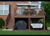 Bolingbrook IL - Decking: Trex Transcend Tree House - Railing, Posts, & Fascia: Trex Transcend Tree House