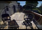 Oswego, IL - Custom Cedar Deck w/ Vertical Cedar Skirting