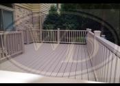 Darien, IL  Trex Transcend Rope Swing Decking Trex Transcend Rope Swing Railings, Fascia, Boarder, and Balusters