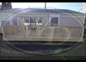 Aurora, IL - Custom Treated Deck
