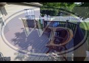 Planfield, IL  Trex Transcend Rope Swing Decking and Posts Trex Transcend Vintage Lantern Railing and Balusters