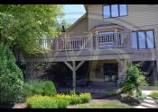 Darien, IL 60561 - Decking, Railing, Skirting, Fascia, Balusters, Posts, & Caps: Trex Transcend Rope Swing