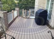 Naperville, IL 60565 Trex Transcend Rope Swing Decking and Railing Trex Rain Escapes