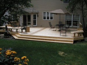 Warner's Decking Deck